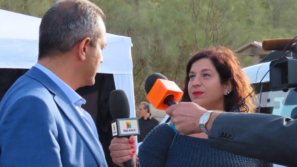 Anna Santonicola intervista il sindaco della città metropolitana di Napoli Luigi de Magistris